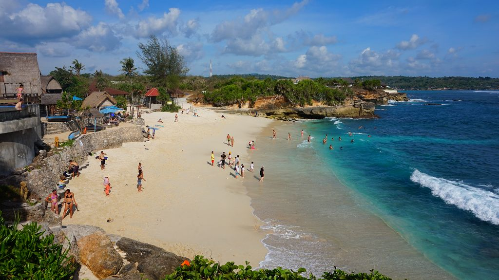 Dream Beach auf Nusa Lembongan