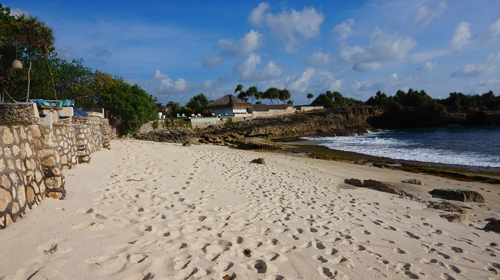 Sunset Beach auf Nusa Lembongan