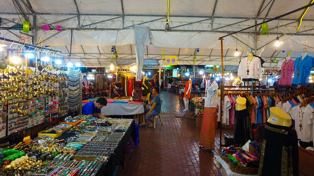 Nightbazar in Chiang Mai