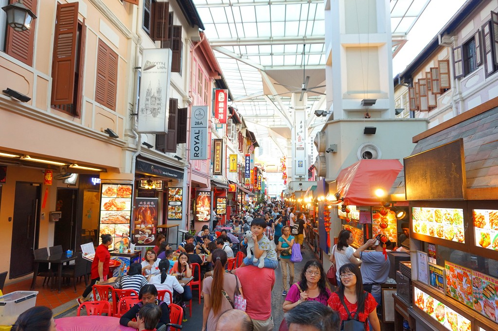 Ein Singapur Sightseeing Highlight: Die Chinatown Food Street