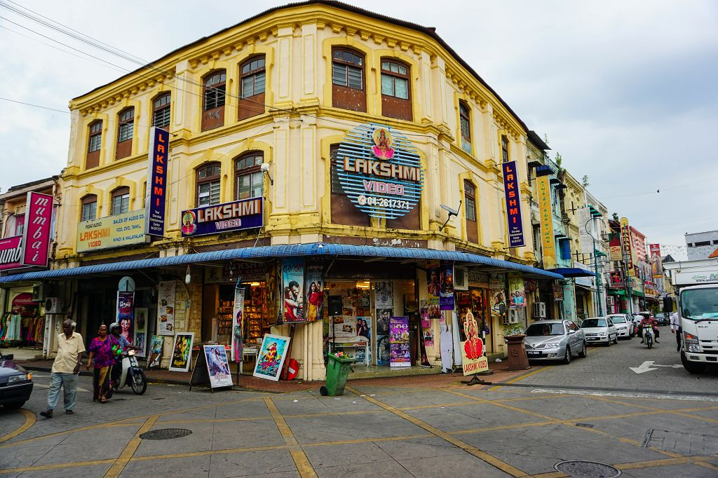 Little India in Penang Malaysia