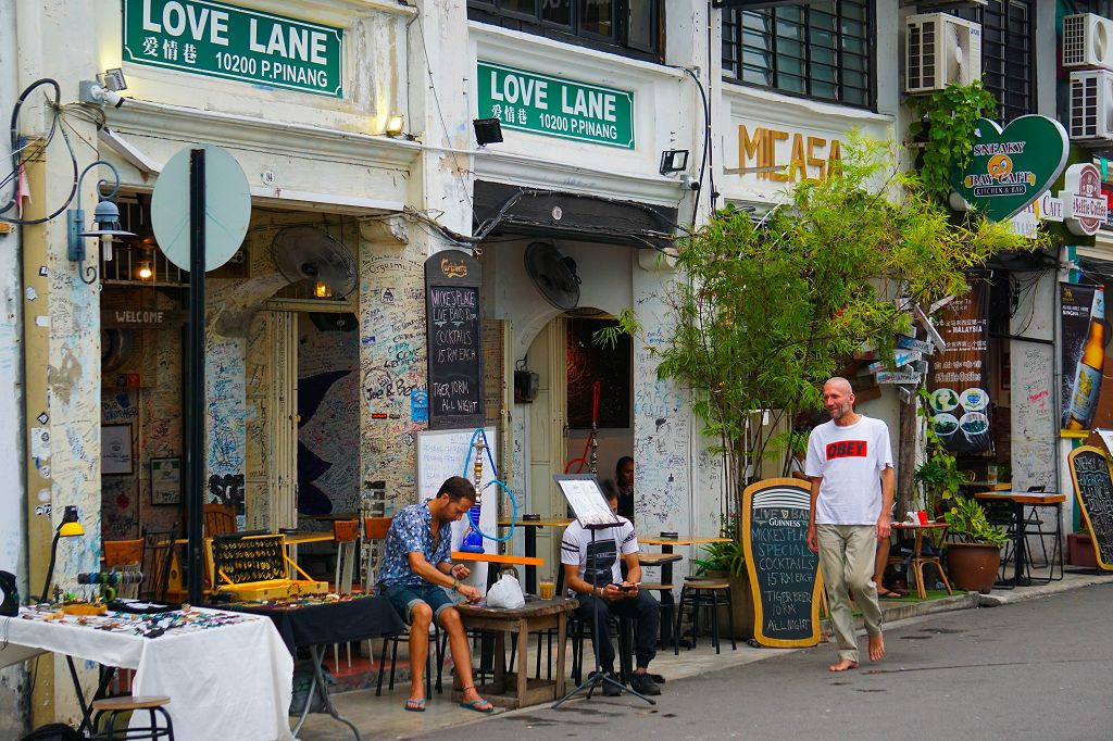 Cafes in der Love Lane