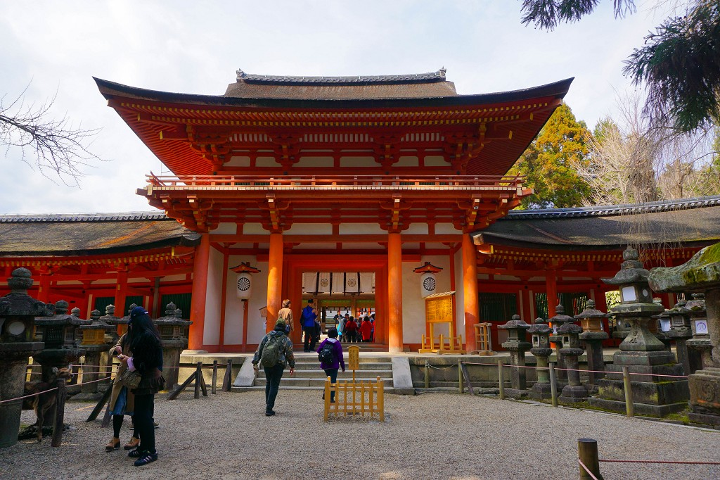 Kasuga Taisha Shrine Nara Japan