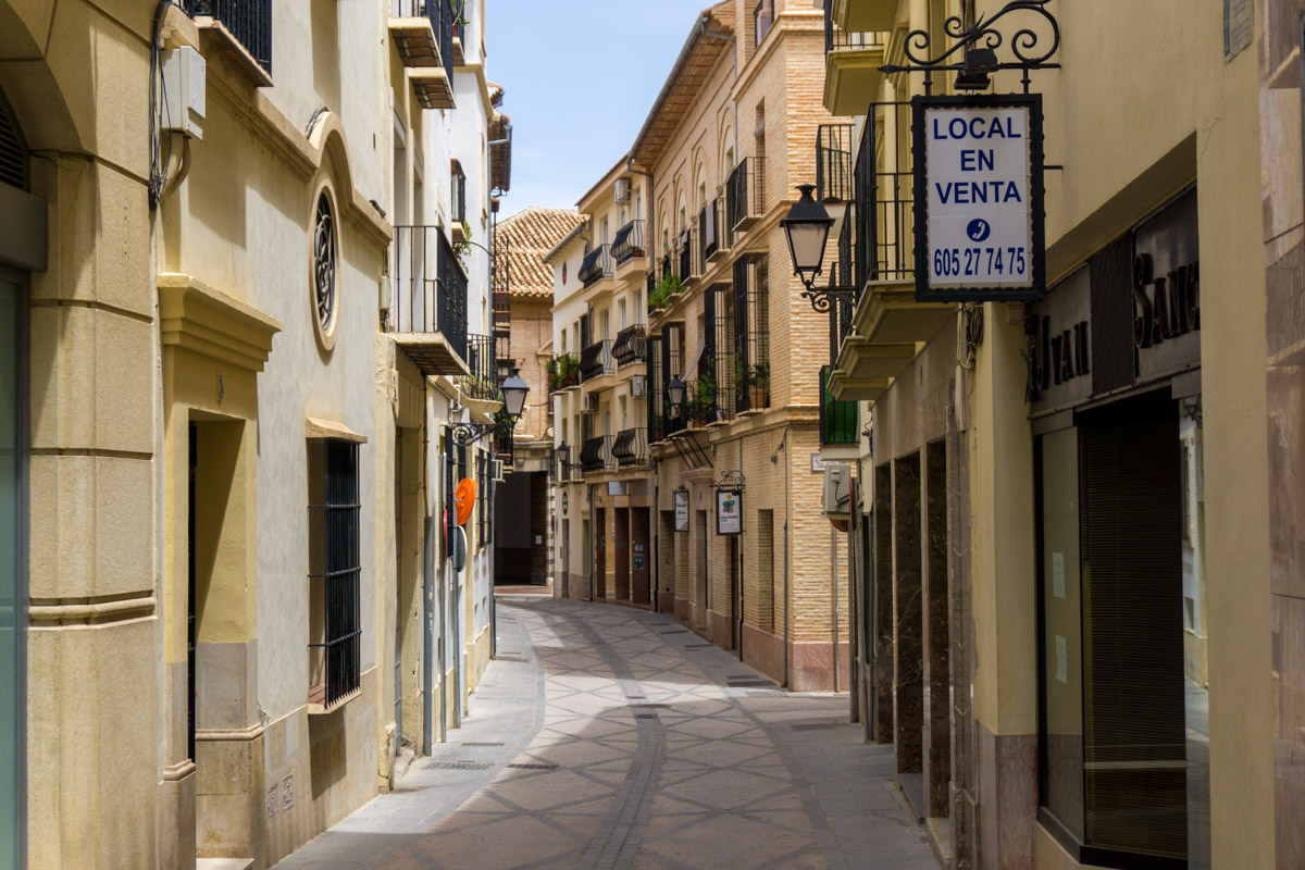 Gasse in Antequera