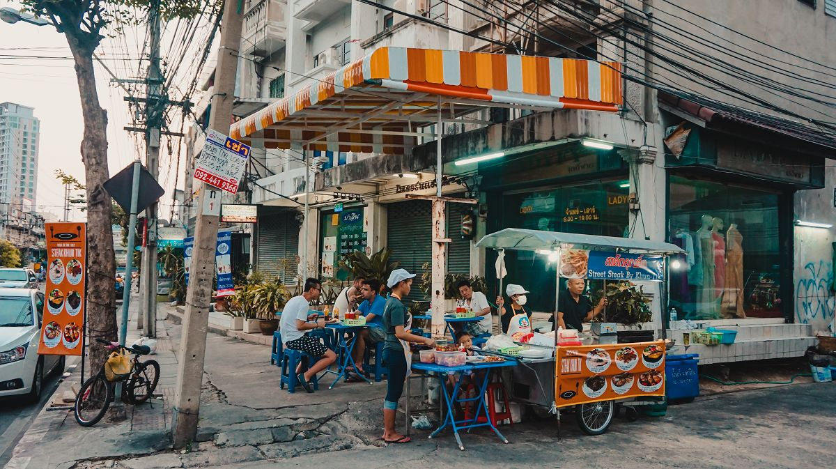 Streetfood Stand in Bangkok