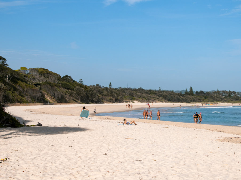 Clarkes Beach in Byron Bay