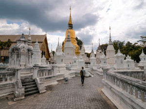 Thailand Backpacking Route: Tempelstadt Chiang Mai