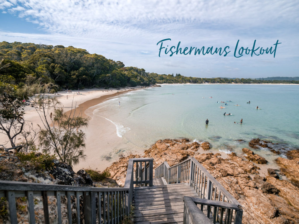 Fishermans Lookout in Byron Bay Australien