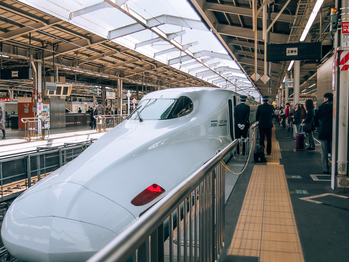 Shinkansen Zug in Japan