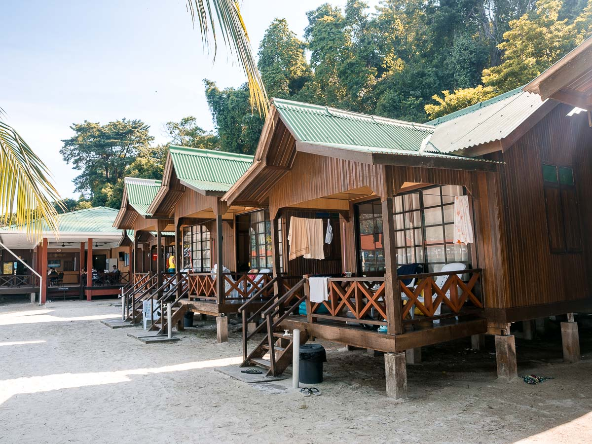 Bungalows des Abduls Chalets in Malaysia