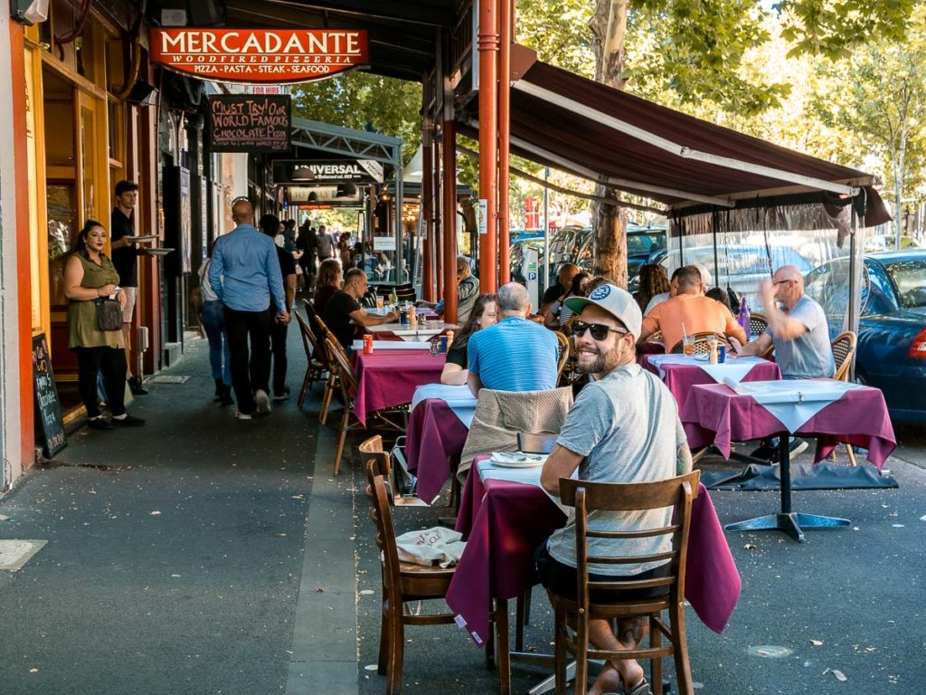 Pizzeria Mercadante in Melbourne
