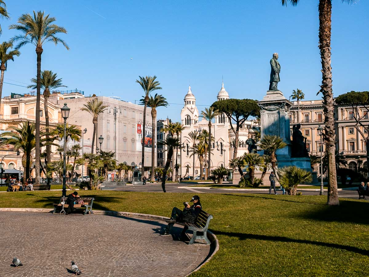 Piazza Cavour in Rom